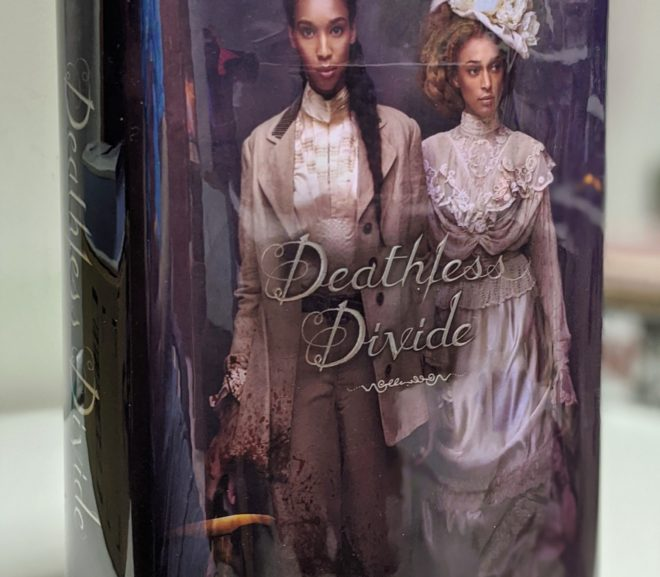 Friday Reads: Deathless Divide by Justina Ireland