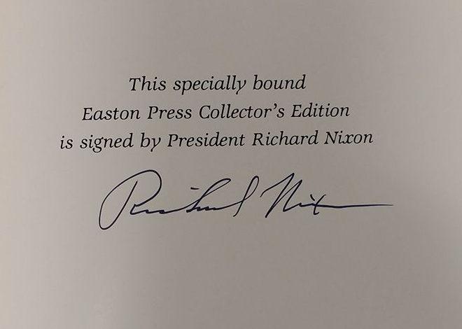 Throwback Thursday: Richard Nixon's autograph