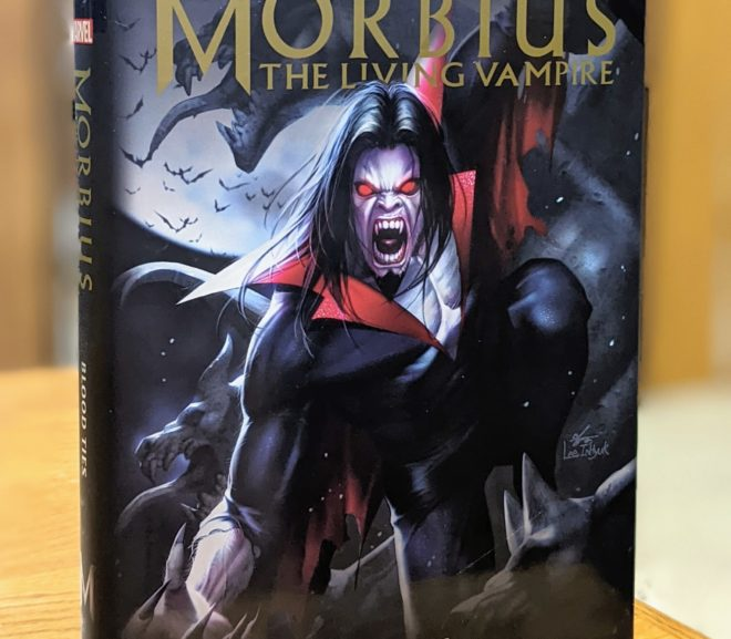 Friday Reads: Morbius The Living Vampire: Blood Ties by Brendan Deneen