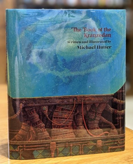 Friday Reads: The Book of the Kranzedan by Michael Hutter