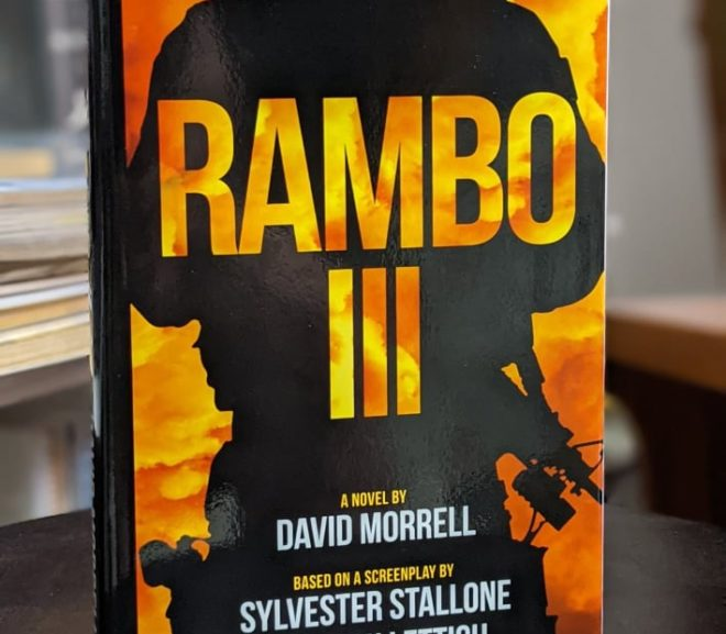 Friday Reads: Rambo III by David Morell