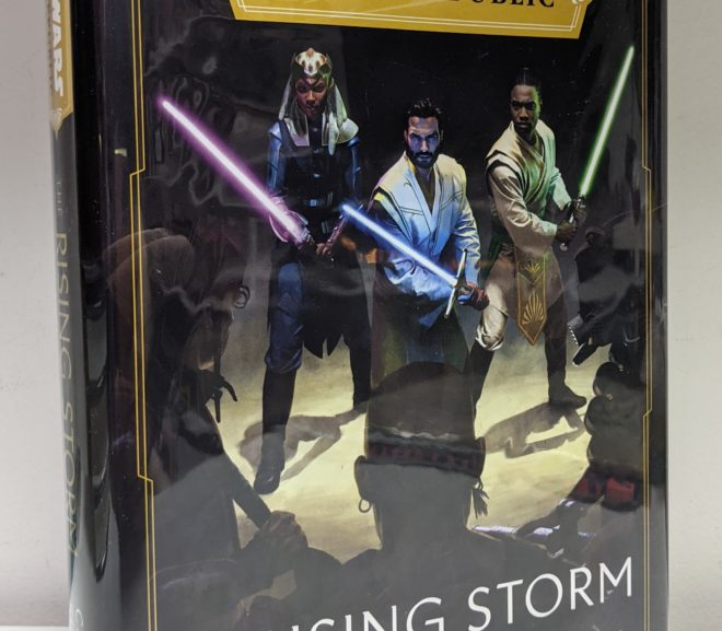 Friday Reads: Star Wars The High Republic: Rising Storm by Cavan Scott
