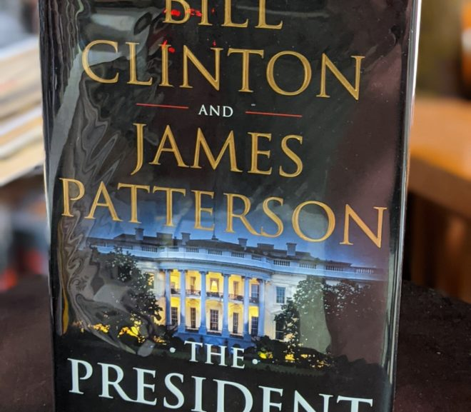 Friday Reads: The President Is Missing by Bill Clinton & James Patterson