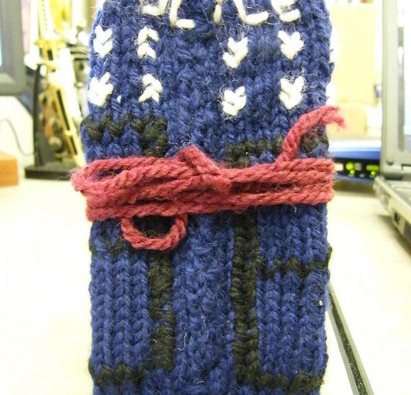 Throwback Thursday: TARDIS iPod Sock