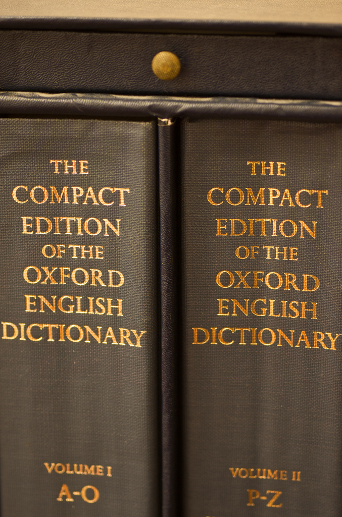 Cory Doctorow: Oxford English Dictionary – the future