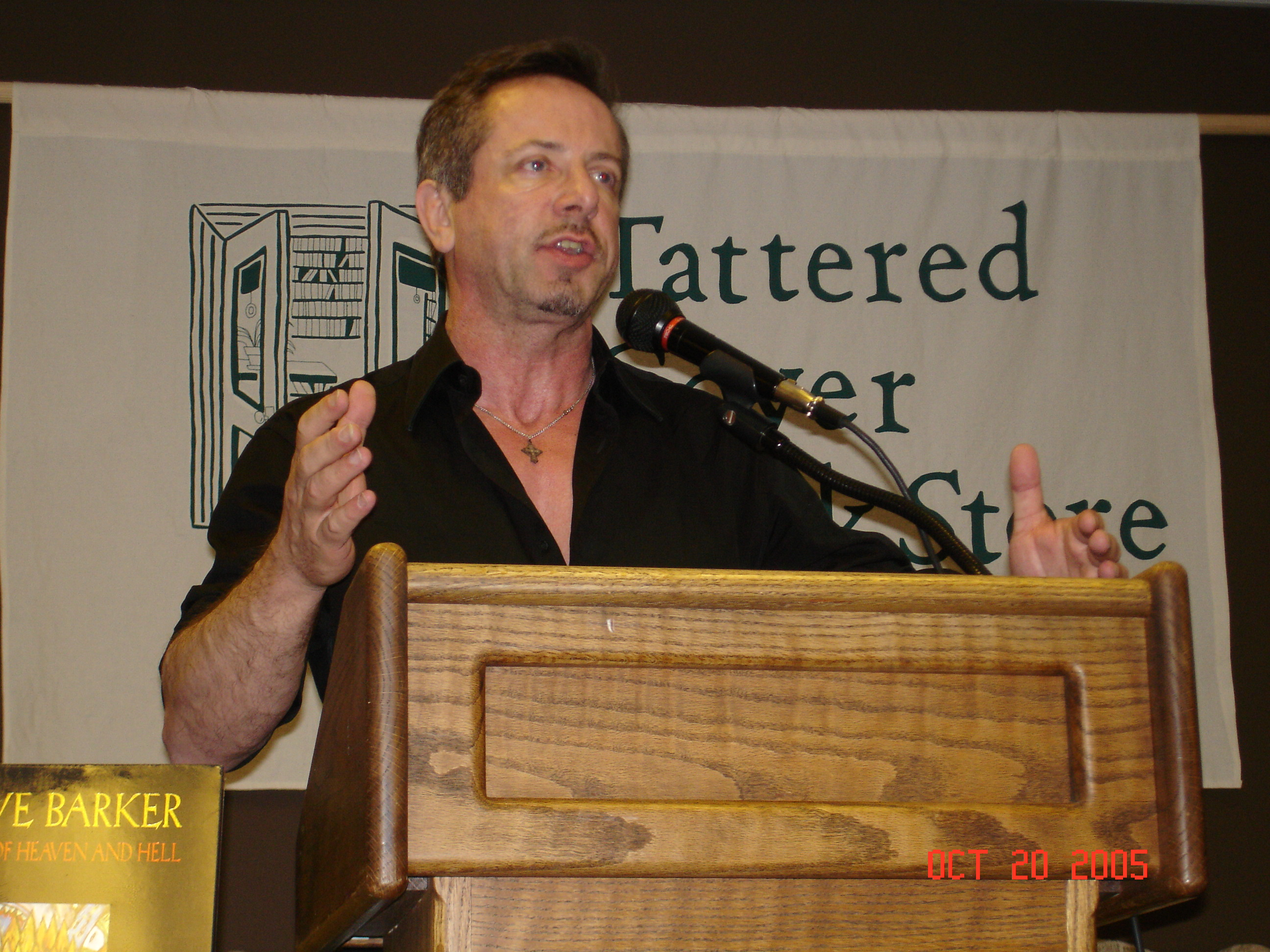 Throwback Thursday: Clive Barker, 2005
