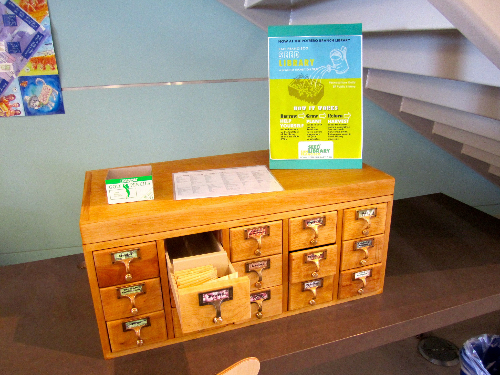 Setting the Record Straight on the Legality of Seed Libraries