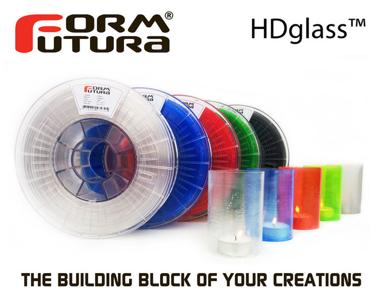 """3D print with """"glass"""""""