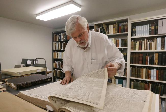 UC Berkeley project discovers writing from Mark Twain's early days as newspaperman