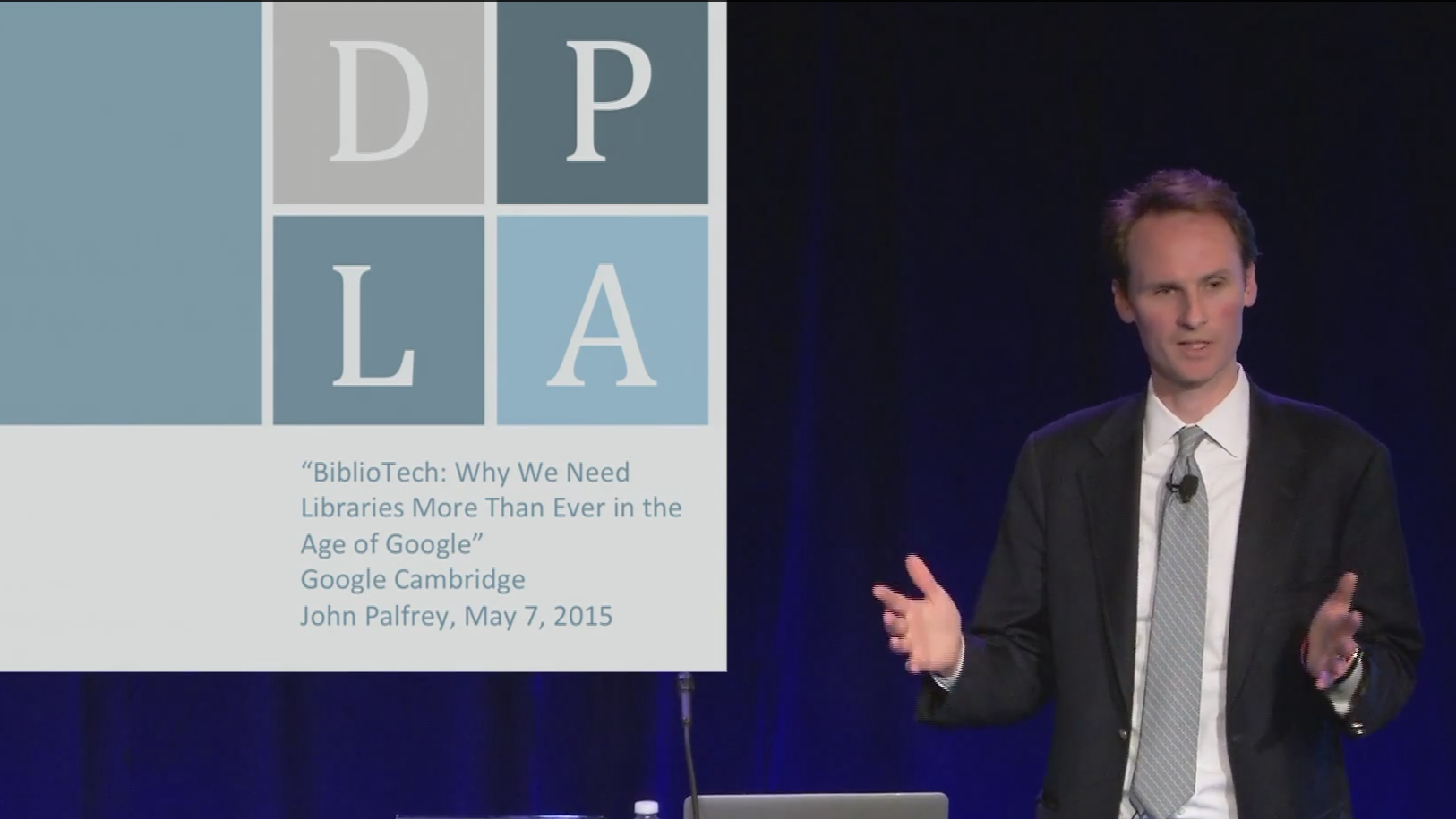 "Friday Video: John Palfrey, ""BiblioTech"""
