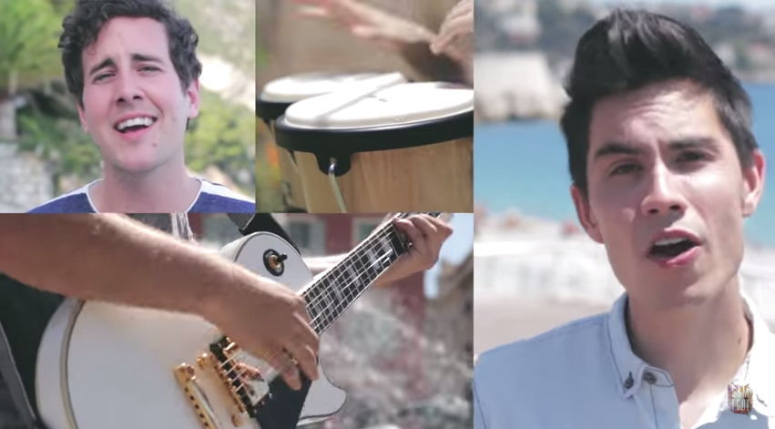 Monday Mashup: Lean On / Lean On Me (Sam Tsui & Casey Breves)