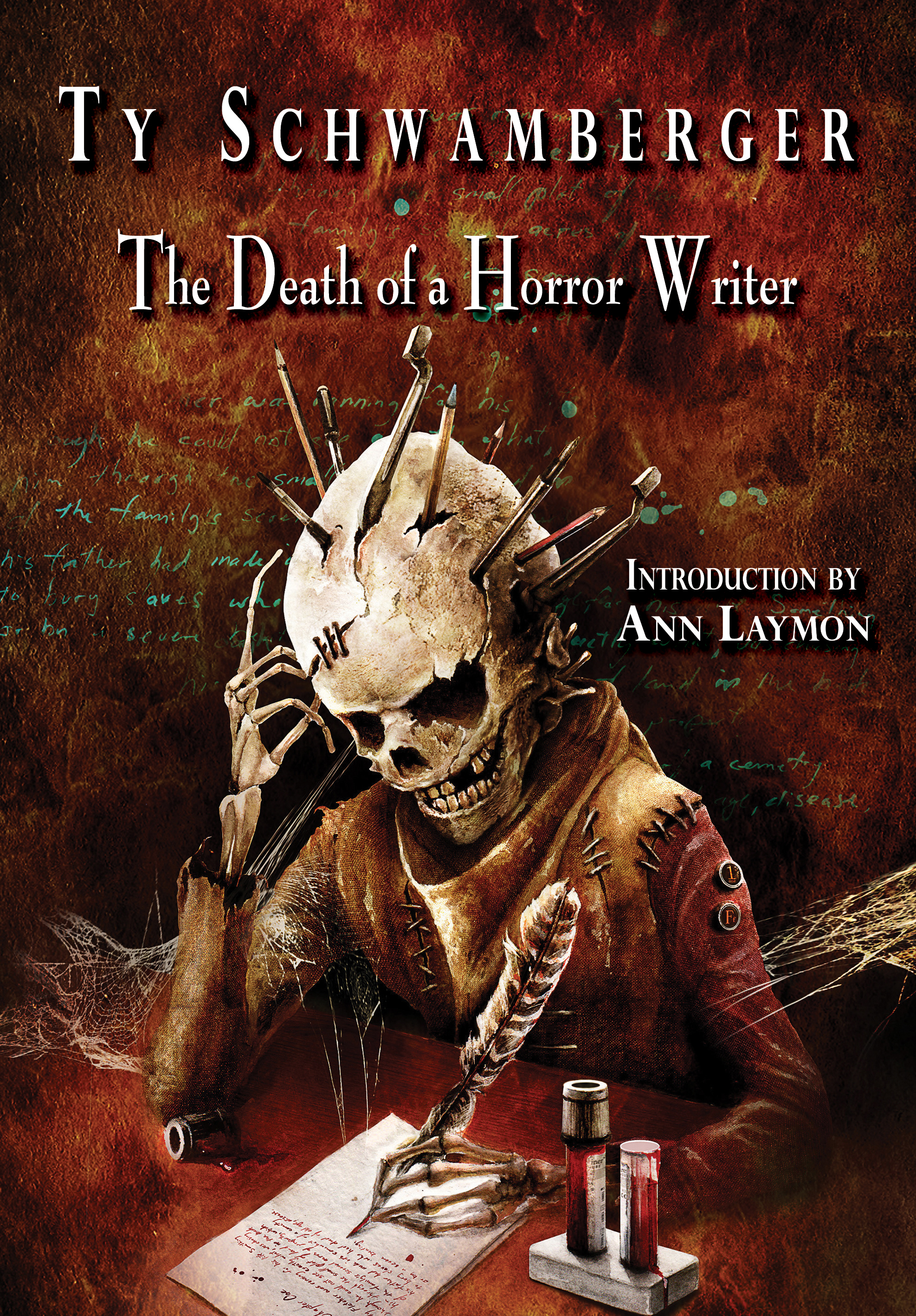 Friday Reads: The Death of a Horror Writer by Ty Schwamberger