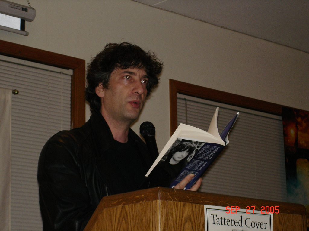 Throwback Thursday: I met Neil Gaiman 10 years ago…
