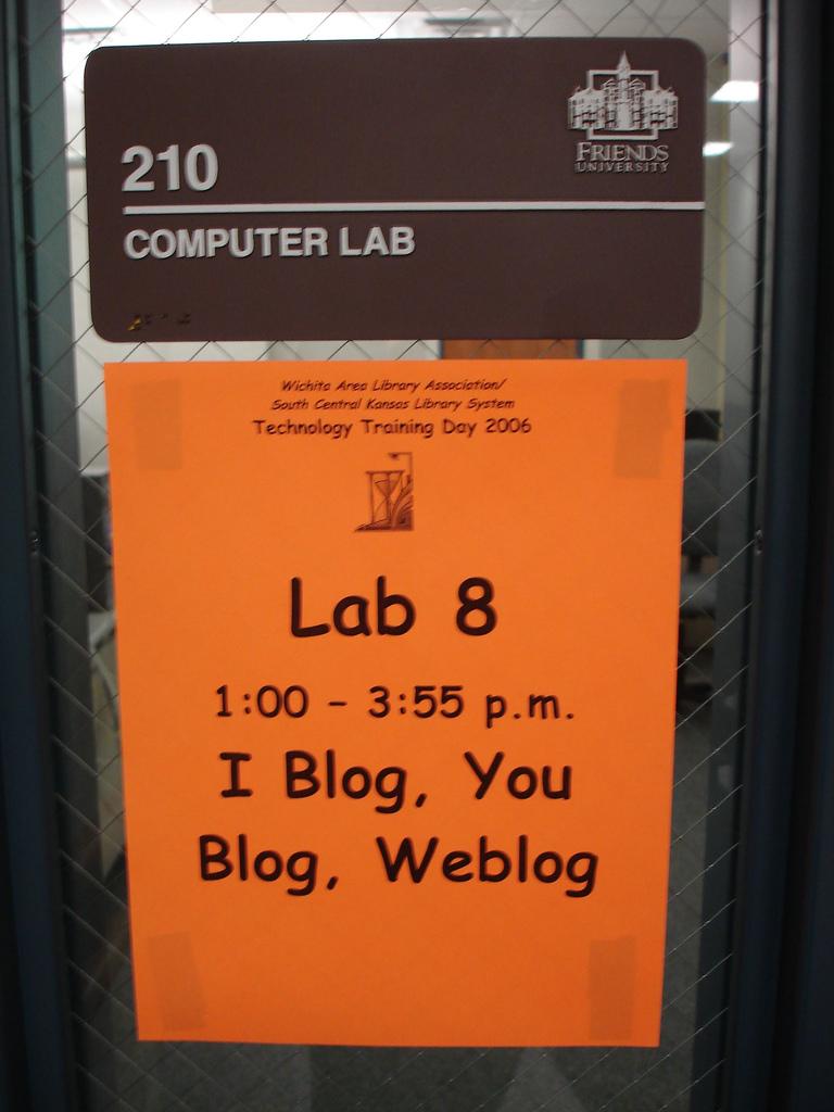 Throwback Thursday: Blogging Workshop