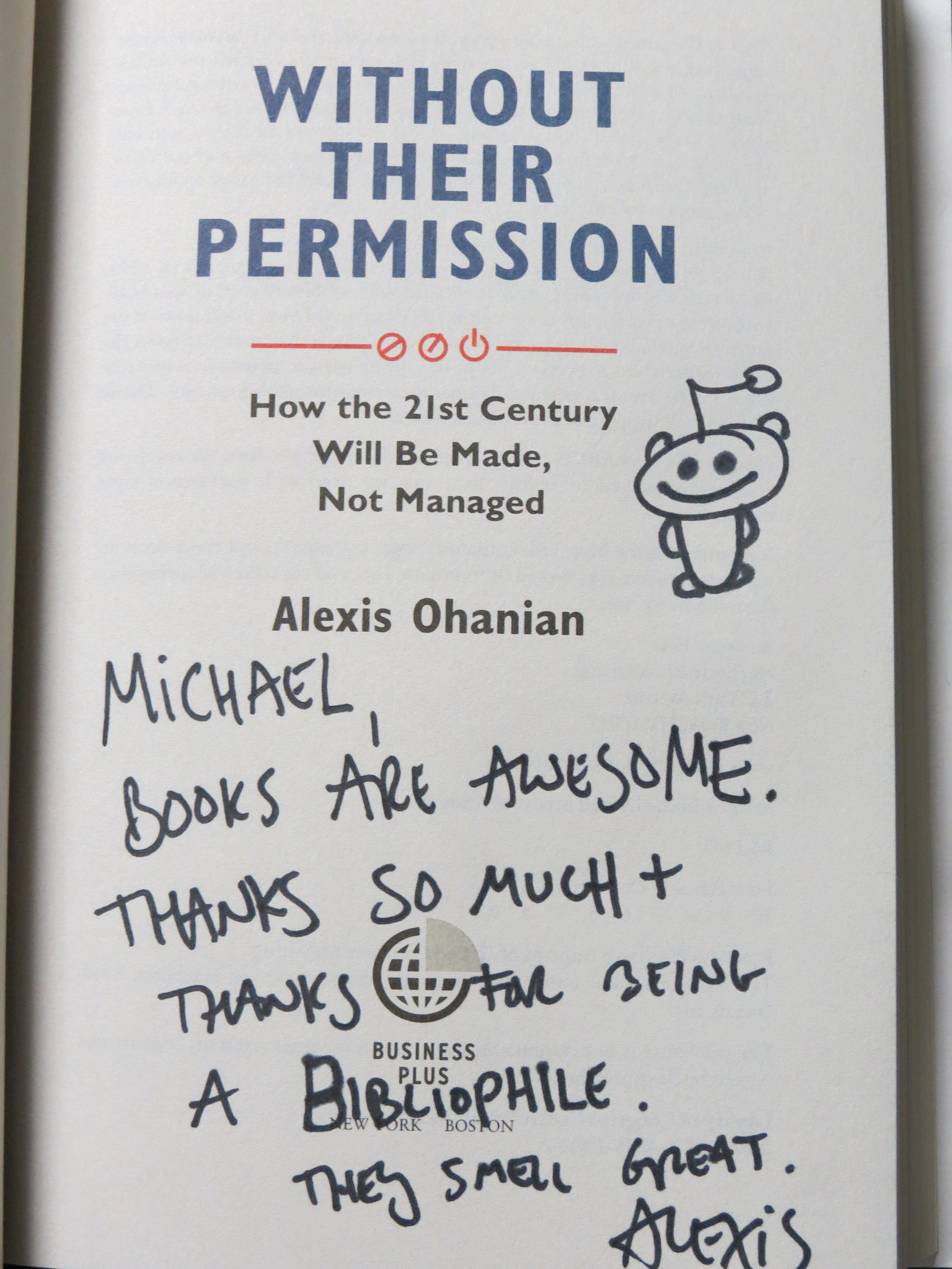 Throwback Thursday: Alexis Ohanian