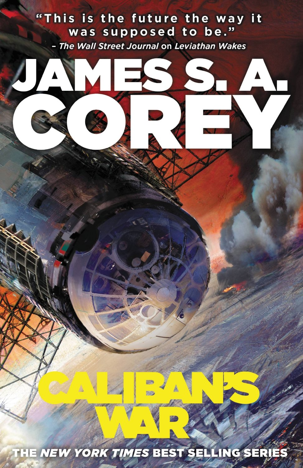 Friday Reads: Caliban's War by James S.A.Corey