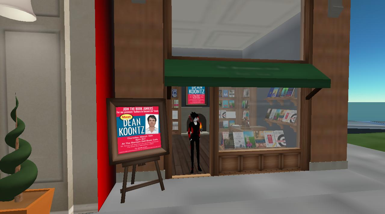 Throwback Thursday: Dean Koontz in SecondLife
