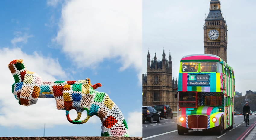 Friday Video: How yarn bombing grew into a worldwide movement
