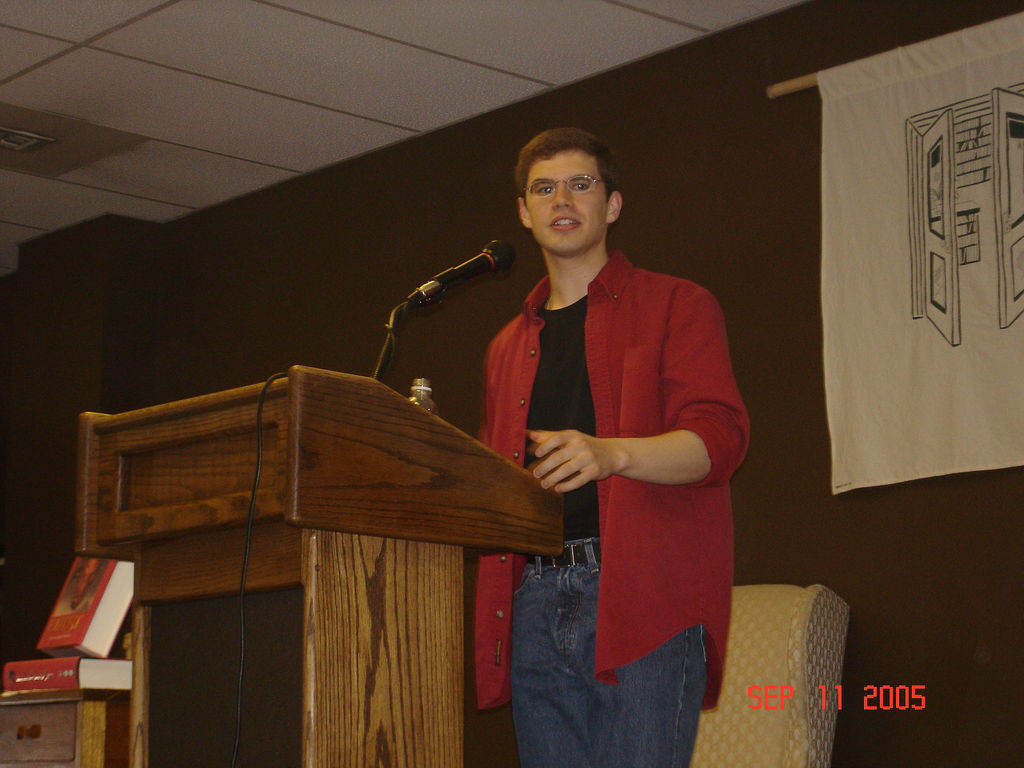 Throwback Thursday: Christopher Paolini