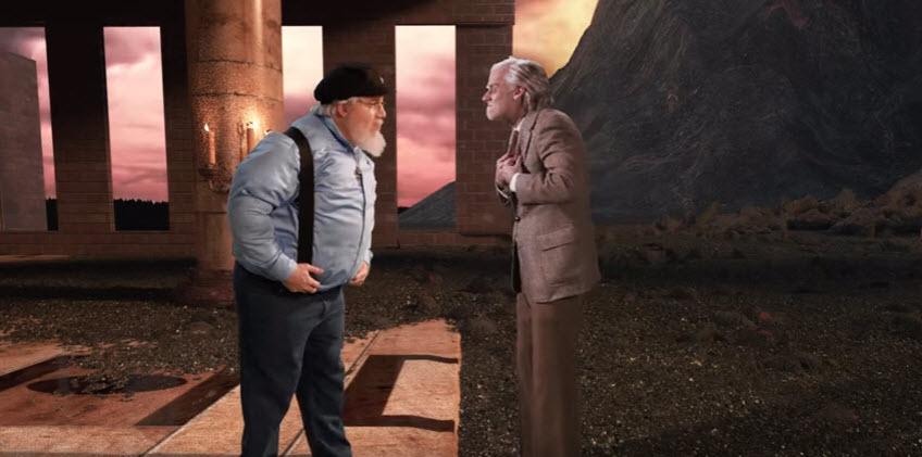 Friday Video: J. R. R. Tolkien vs George R. R. Martin. Epic Rap Battles of History