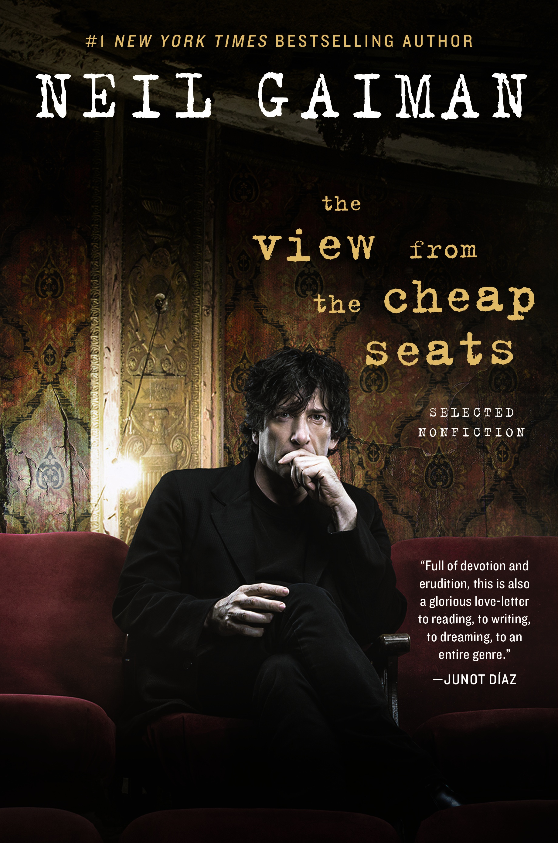 Friday Reads: The View From the Cheap Seats by Neil Gaiman