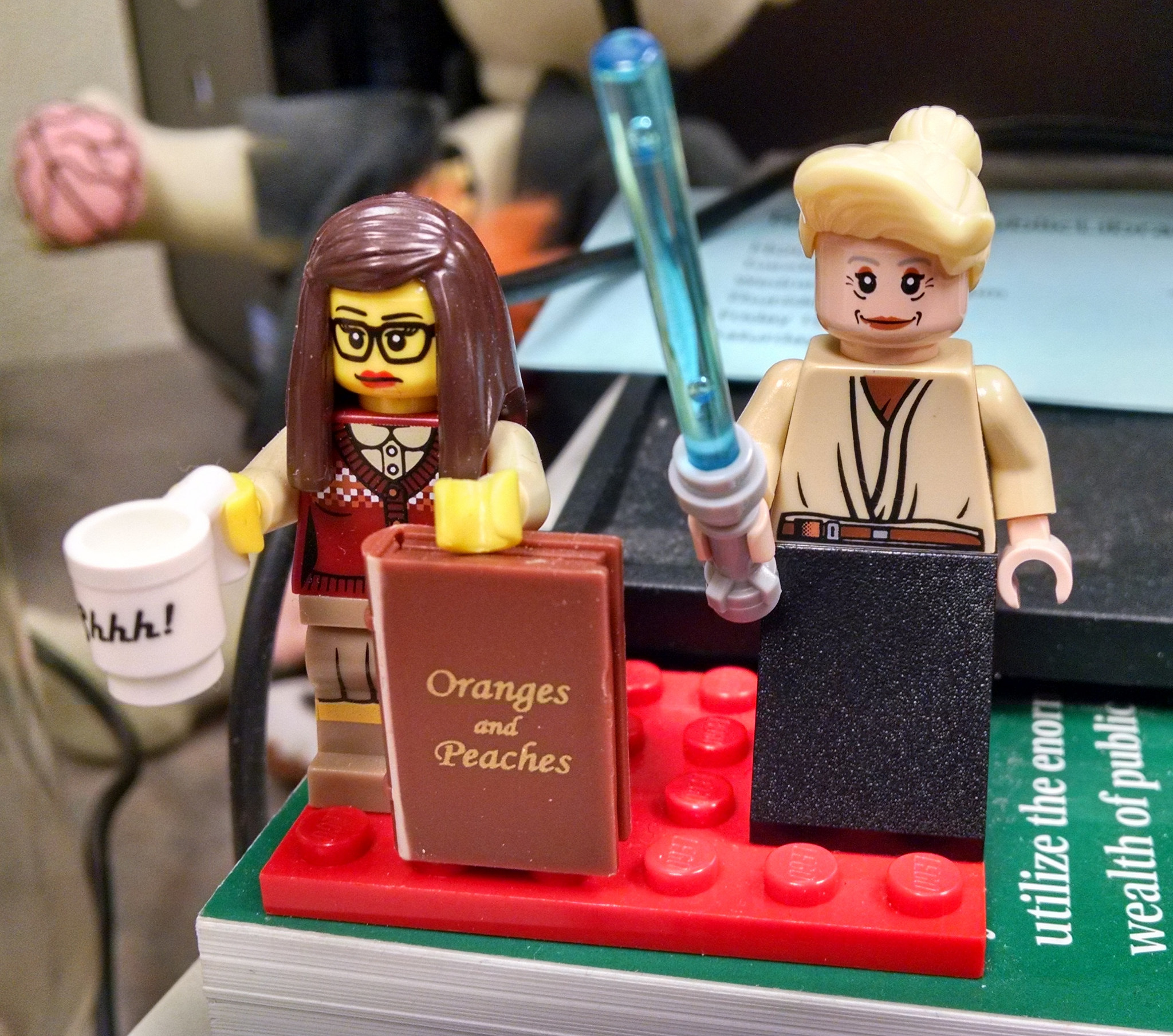 Throwback Thursday: Lego Librarians