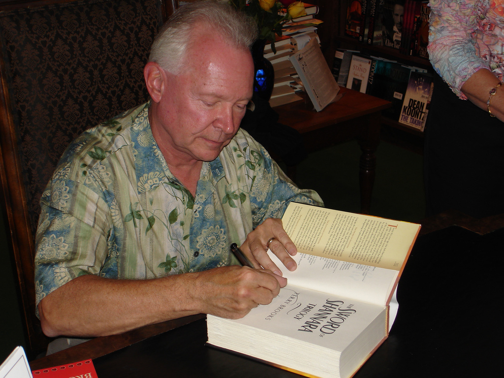 Throwback Thursday: Terry Brooks