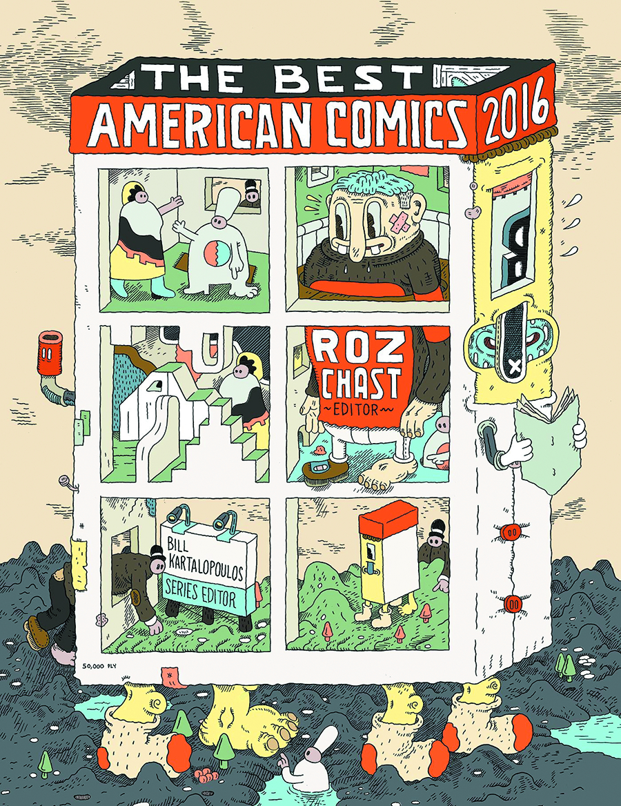 Friday Reads: The Best American Comics2016