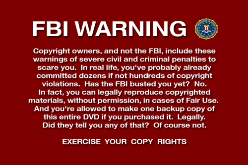 Throwback Thursday: FBI Warning