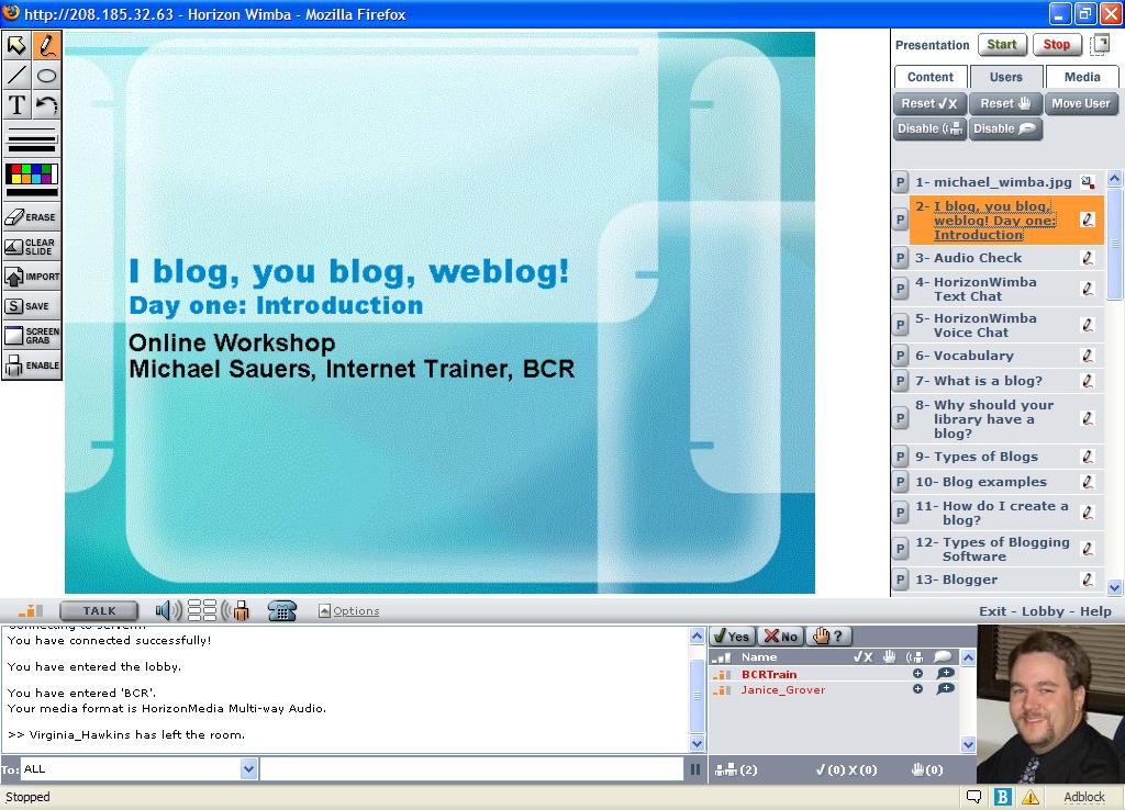 I blog, you blog, weblog!