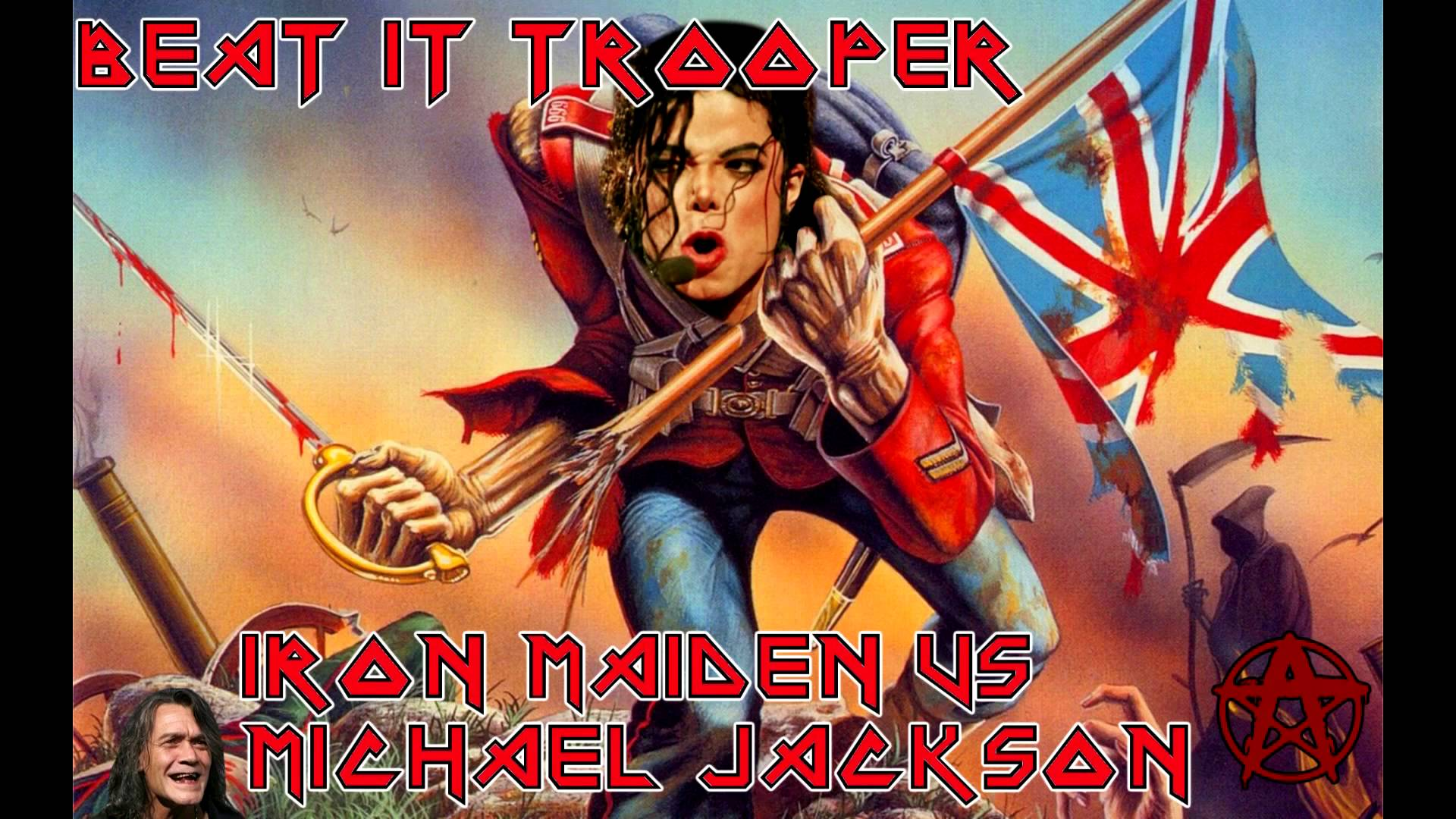 Mashup Monday: Beat It, Trooper! [Iron Maiden vs. Michael Jackson]