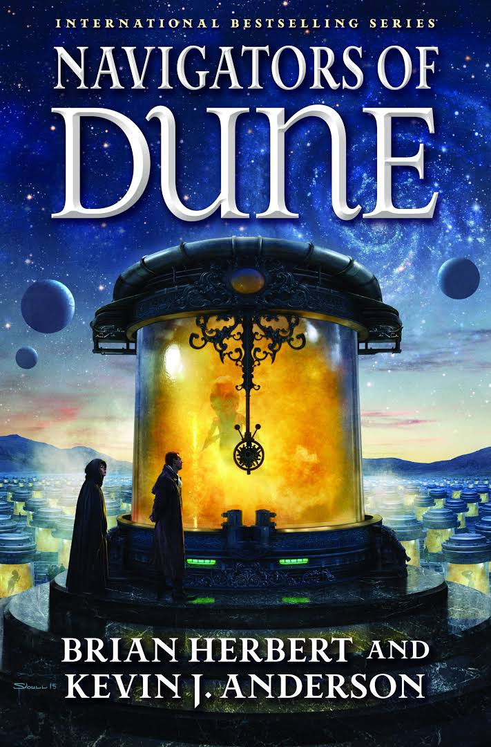 Friday Reads: Navigators of Dune by Brian Herbert & Kevin J. Anderson