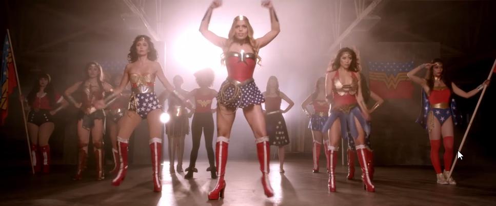 Friday Video: Wonder Woman Saves the World
