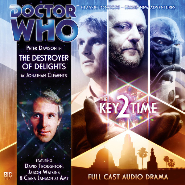 Friday Reads: Doctor Who Key 2 Time: The Destroyer of Delights
