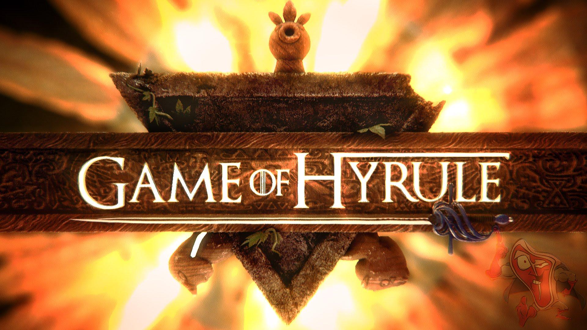 Mashup Monday: Game of Hyrule – Legend of Zelda, Game of Thrones – Opening