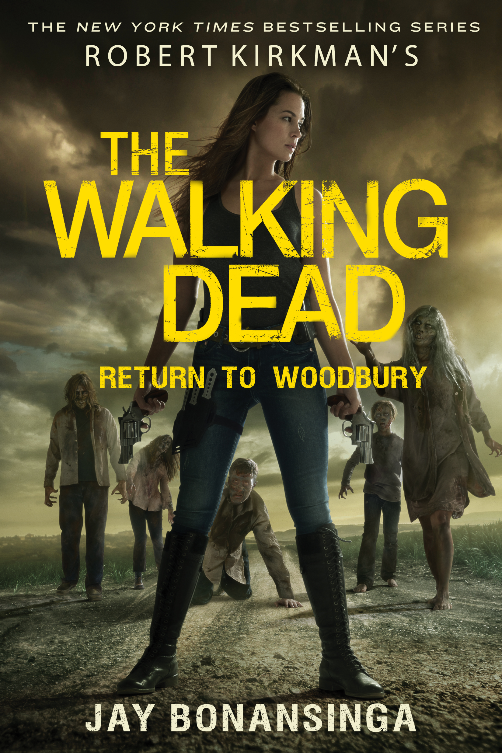 Friday Reads: The Walking Dead: Return to Woodbury by Jay Bonansinga