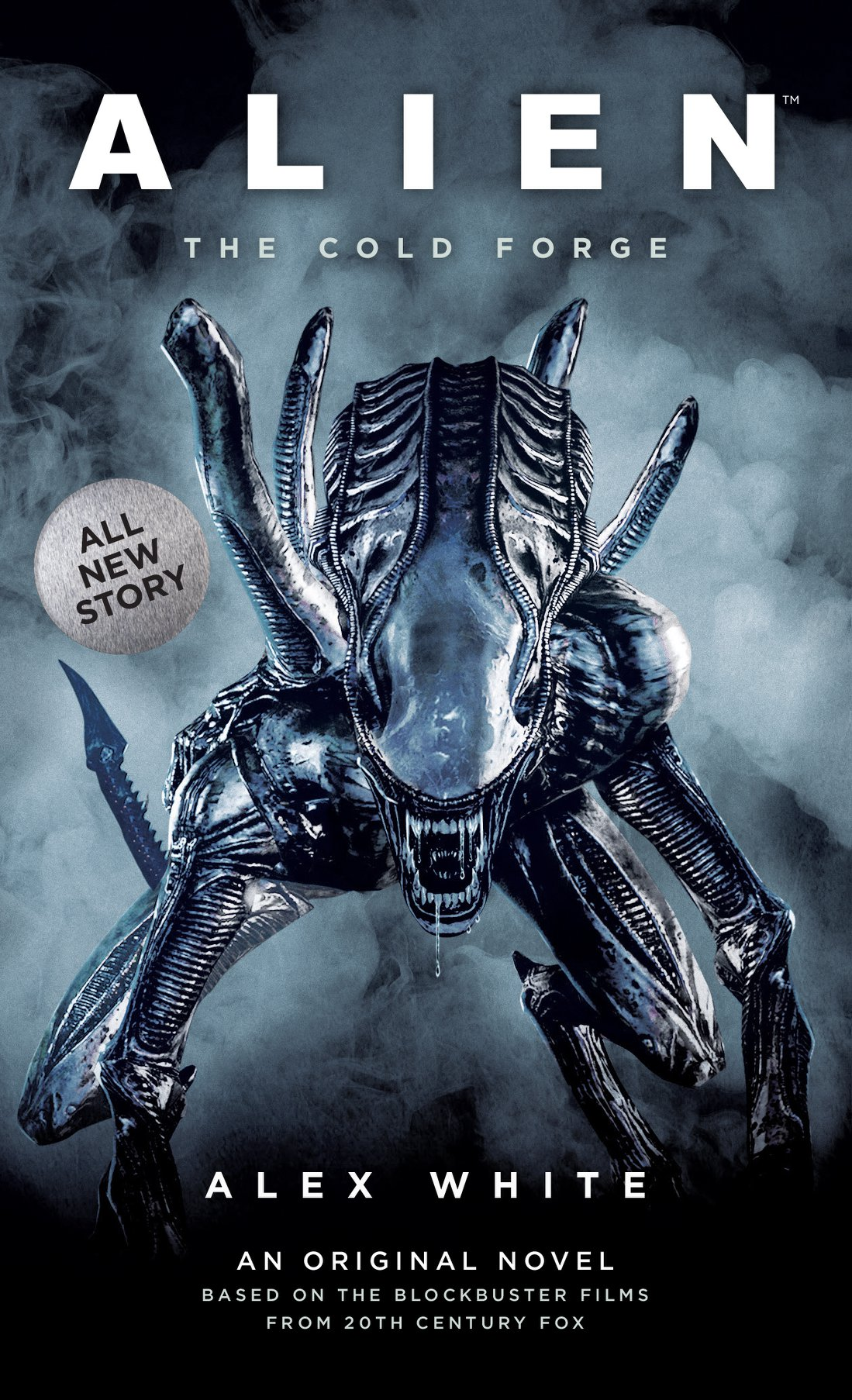 Friday Reads: Alien: The Cold Forge by Alex White