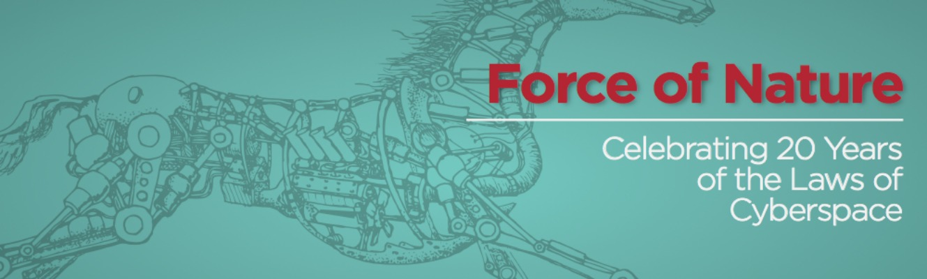 Friday Video: Force of Nature: Celebrating 20 Years of the Laws of Cyberspace