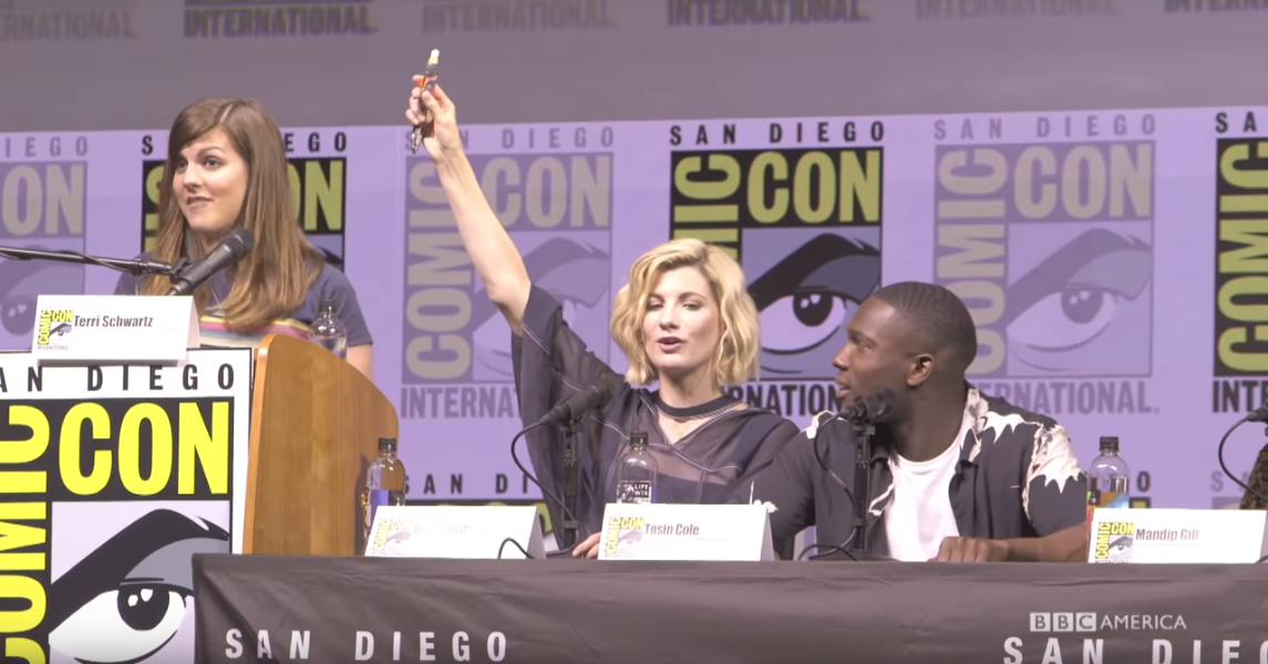 Friday Video: Comic Con 2018 Doctor Who Panel
