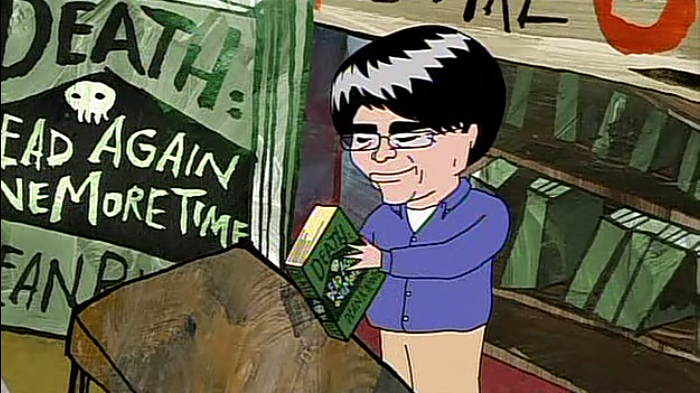 "Throwback Thursday: ""Dean Koontz"" on Squidbillies"