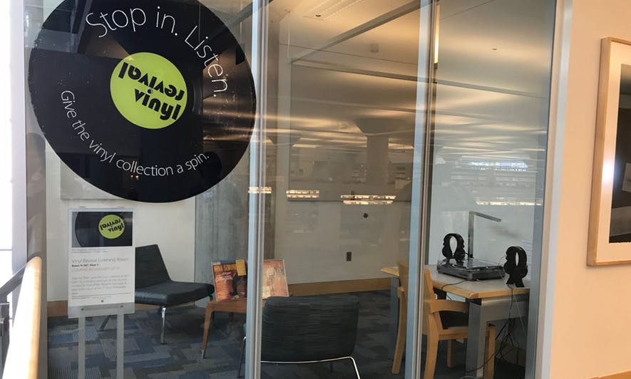 Minneapolis Central Library opens vinyl listening room to share collection