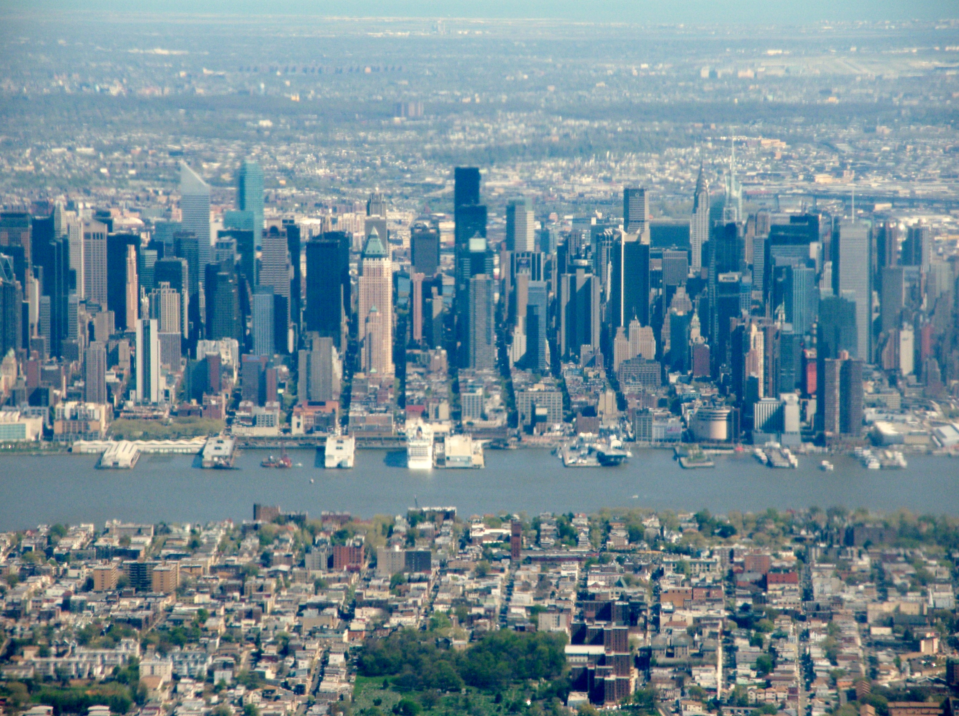 Throwback Thursday: Flying past Manhattan