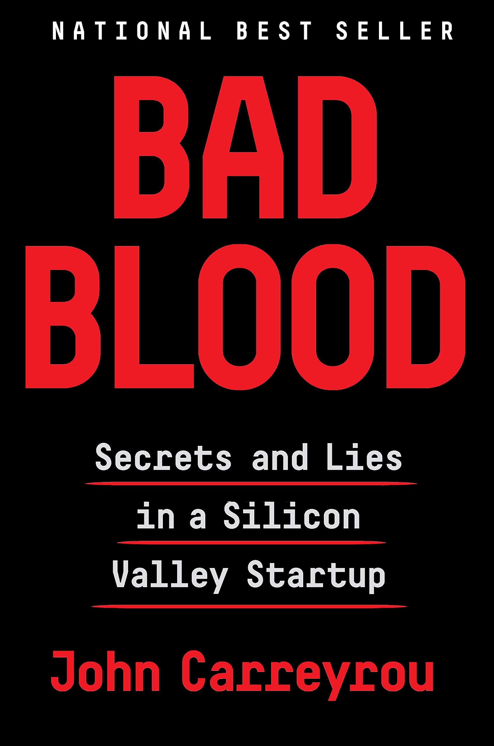 Friday Reads: Bad Blood by JohnCarreyrou