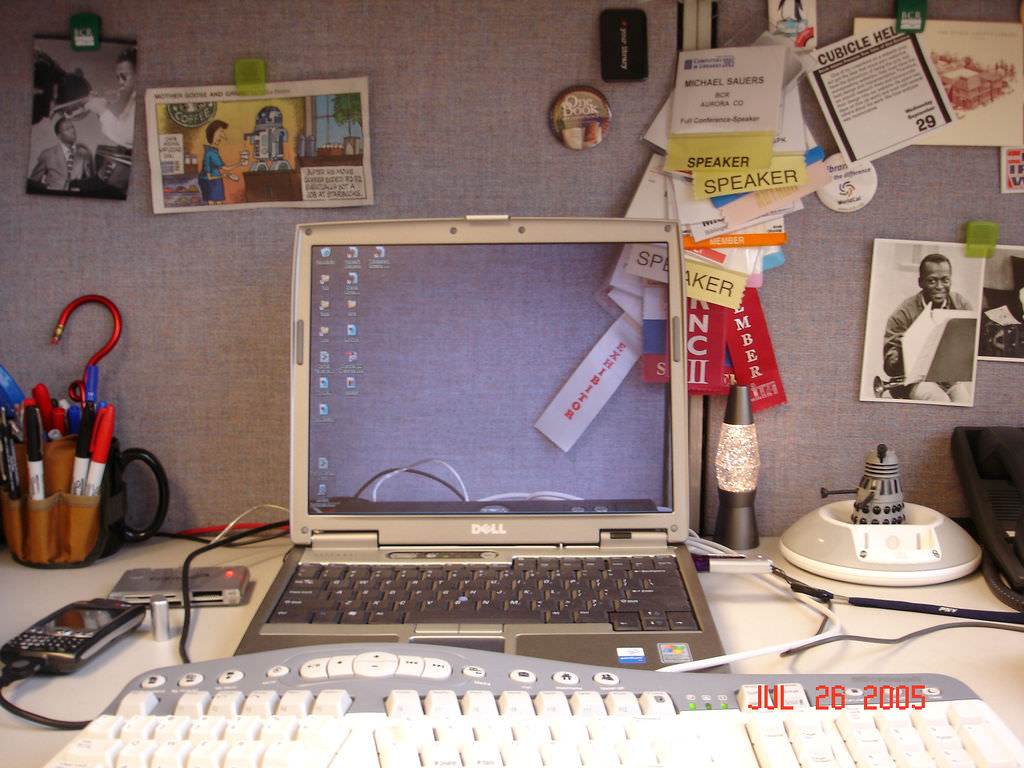Throwback Thursday: Transparent Screen Laptop