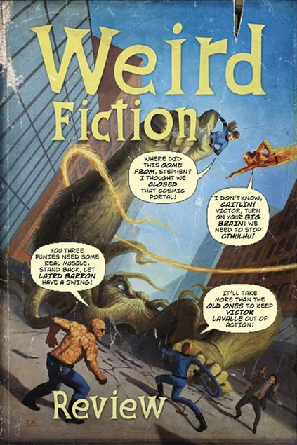 Friday Reads: Weird Fiction Review#9