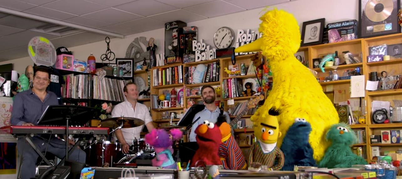 Friday Video: Sesame Street Tiny Desk Concert