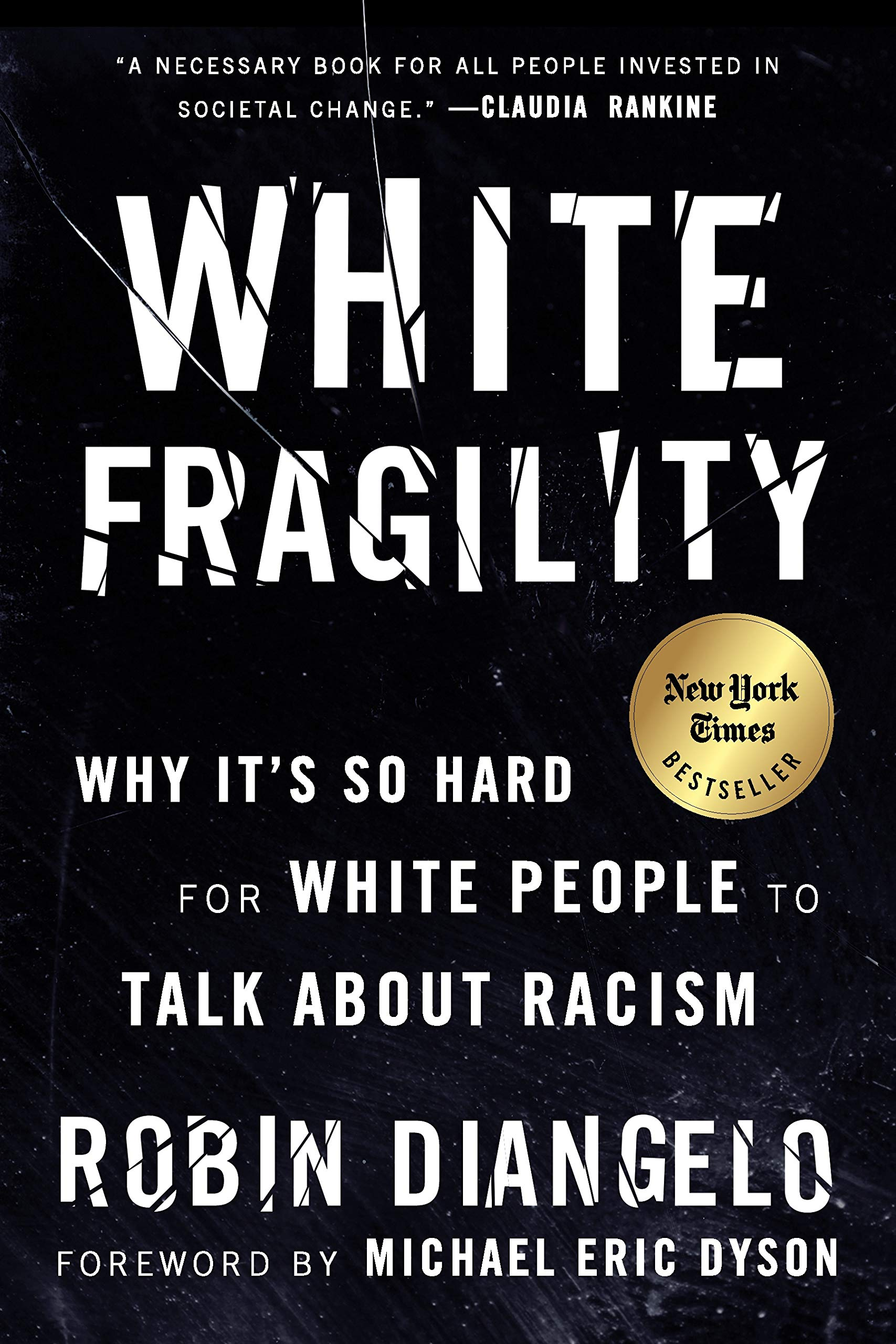 Friday Reads: White Fragility: Why It's So Hard for White People to Talk About Racism by Robin DiAngelo