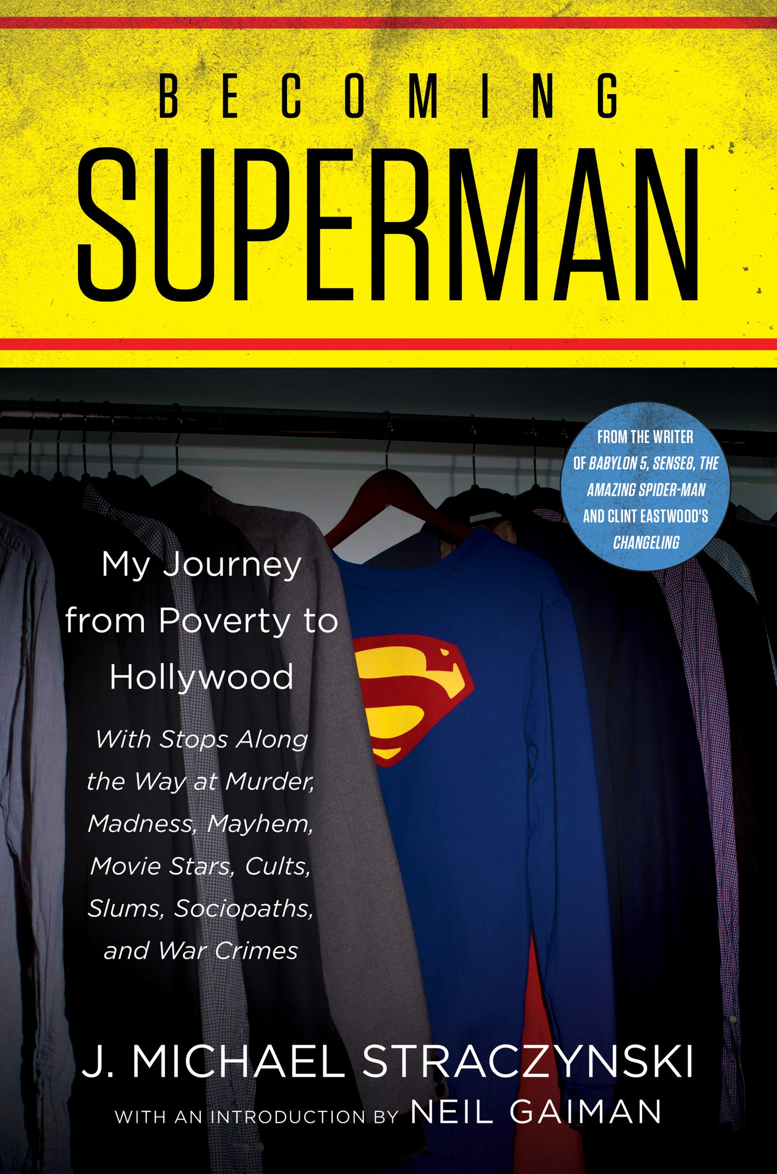 Friday Reads: Becoming Superman by J. Michael Straczynski