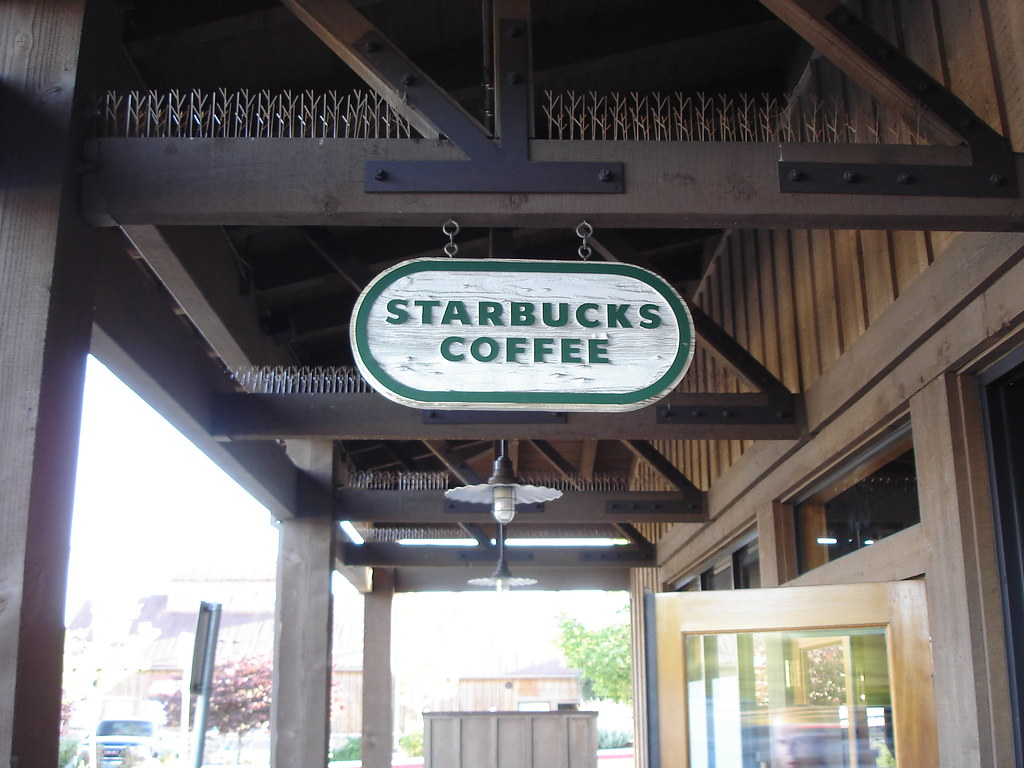Starbucks sign, Sparks NV