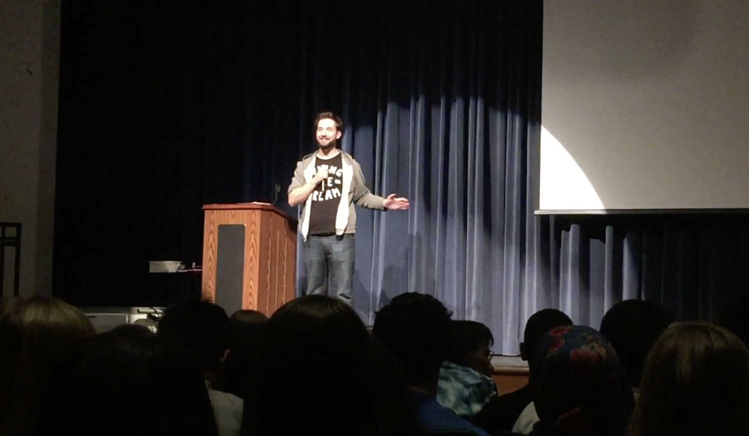 Friday Video: Alexis Ohanian  @ Howard High School